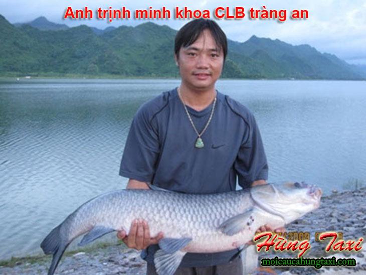 Anh trịnh minh khoa câu con cá trắm đen 22.25kg