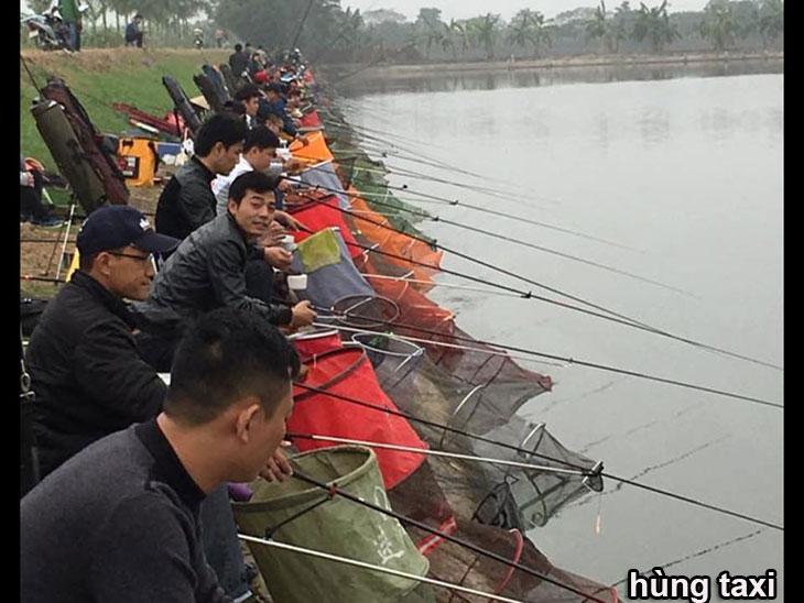 Hội viên CLB câu cá Tràng An