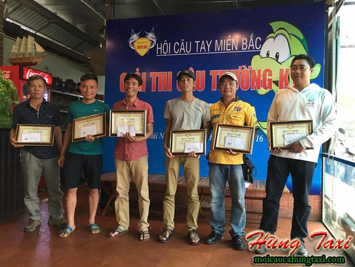 giải thi câu thường kỳ hội câu tay miền bắc lần thứ nhất 2016