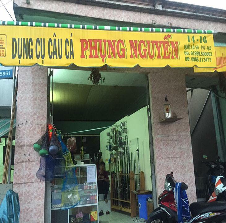 Shop cần câu tay giá rẻ Phụng Nguyễn