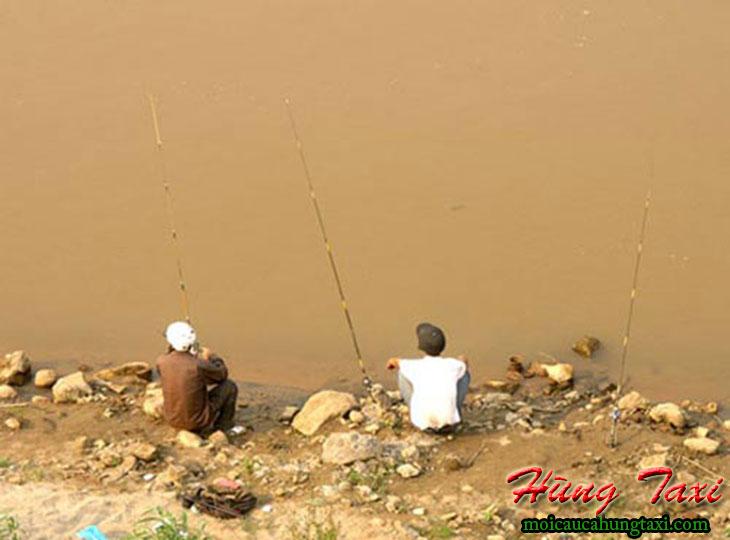 Đi câu cá sông hồng hà nội